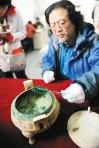 2400年前のスープが入っていた鼎